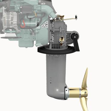 Parts by Sail drive model
