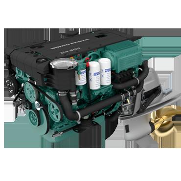 Aquamatic stern drive engines